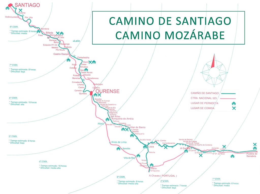 Camino Mozárabe Ourense Asociación Cultural Amigos Camiño Mozárabe Vía Plata Ourense